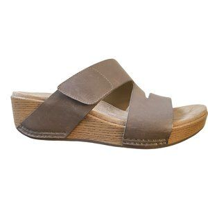 Dansko New Women's Sandal Lacee Leather Taupe size 38